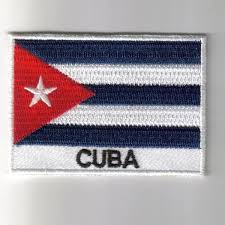Cuba Flag Embroidered Patches Country Flag Cuba Patches Iron On Badges