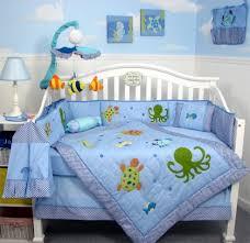 Fish Crib Bedding by Baby Nursery Incredible Light Blue Baby Nursery Room Design Ideas