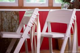 how to dress up folding chairs for thanksgiving guests