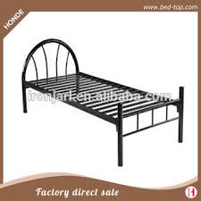 Iron Single Bed Frame Metal Single Cot Bed Frame Modern Design Metal Bed In Cheap