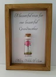 Keepsake Items Grandmother Gift Birthday Thank You Rose Keepsake Can Be