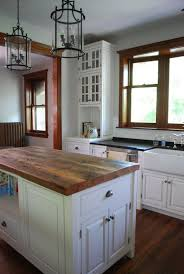 wood top kitchen island reclaimed wood kitchen island top kitchen design
