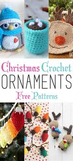 crochet ornaments with free patterns free pattern