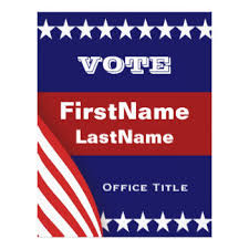 patriotic campaign flyers u0026 programs zazzle