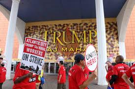 Trump Taj Mahal Floor Plan Trump Taj Mahal Workers Continue Strike Despite Impending Closure