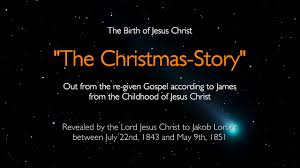 birth of jesus christ the christmas story told by jesus