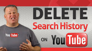 how to delete your youtube search history youtube