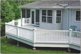 modern pvc deck railing beautiful pvc deck railing u2013 home decor