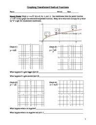 Graphing Square Root Functions Worksheet Best 25 Square Root 3 Ideas On Square Roots Bethany
