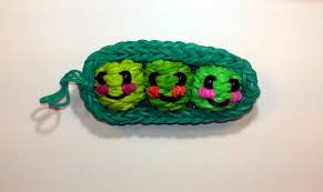 3 Peas In A Pod Jewelry 3 D Happy Peas In A Pod Tutorial By Feelinspiffy Rainbow Loom