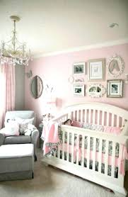 beautiful modern baby room with pink wall paint com trends