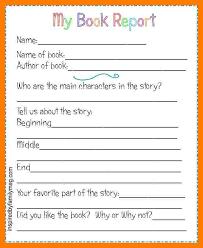 2nd grade book report template 7 2nd grade book report format teller resume