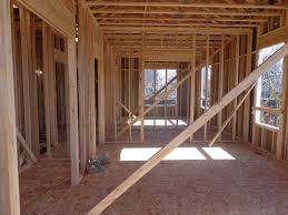 New Construction Plumbing The Rough Framing Has Been Completed In Lincoln Park America U0027s