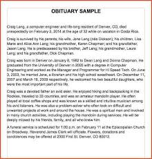 obituaries samples obituary samples word 03 jpg proposal bid