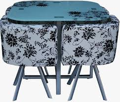 Space Saver Dining Set Table Four Chairs 27 Best Space Saver Dining Table Images On Pinterest Space Saver