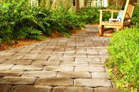 home depot path the right paver path for every landscape garden club pavers at home