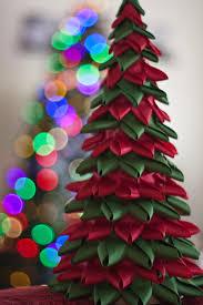 Christmas Craft Decor - ribbon christmas tree craft christmas lights decoration