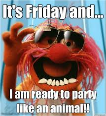 Its Friday Memes 18 - it s friday and i am ready to party like an animal advice
