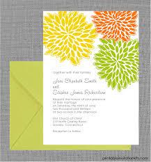 design templates print free wedding printables free pdf download petal clusters spring wedding invitation