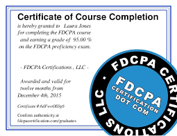 printable version of fdcpa course completion etame mibawa co