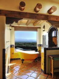 simple rustic spanish style kitchen home design very nice top with