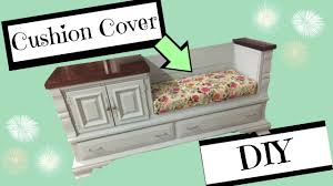 diy bench cushion with boxed corners youtube