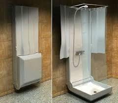 Shower For Small Bathroom Folding Shower For Small Bathroom Bathware