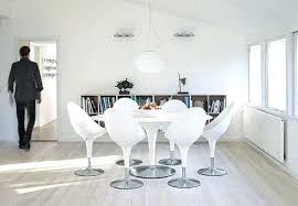 chaises design salle manger chaise design salle a manger design salle manger en blanc optez pour