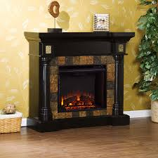 Portable Gas Fireplace by Rustic Electric Fireplaces I Portable Fireplace