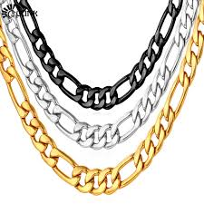 hip hop style necklace images Men figaro necklace hip hop style chain necklaces men statement jpg