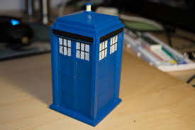 the tardis from doctor who by frank20a thingiverse