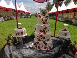 novelty cake designs wedding cake with edible photos blossoms