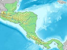 central america physical map central america physical map 2007