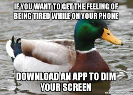 Being Tired Meme - if you want to get the feeling of being tired while on your phone