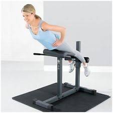 Roman Chair Exercises Abdominal Marcy Strength Training Benches Ebay