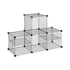 Bed Bath And Beyond Reno Nv Grid Wire Modular Shelving And Storage Cubes Bed Bath U0026 Beyond