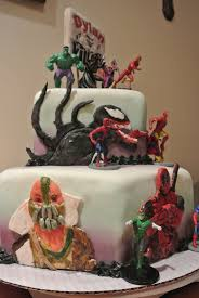 marvel cake toppers marvel vs dc comic cakecentral