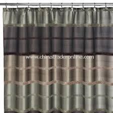 Shower Curtain Custom Black Tree Fabric Shower Curtain Blake Fabric Shower Curtain