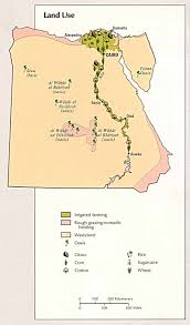 Map Of Egypt In Africa by Egypt