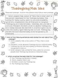 idea and best title worksheets thanksgiving test prep by