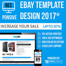 ebay listing template design professional mobile 2017 responsive