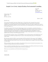 astonishing sample cover letter for environmental internship 51 on