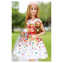 barbie collector barbie park pretty doll target