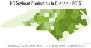 County Map Of North Carolina North Carolina Soybeans North Carolina Soybeansnorth Carolina
