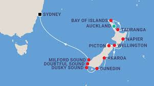 auckland australia map australia and new zealand cruise packages
