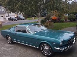 twilight blue mustang a code 1965 ford mustang fastback for sale on bat auctions sold