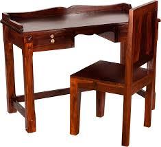 Sheesham Computer Desk Induscraft Solid Wood Computer Desk Price In India Buy