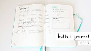 Bullet Journaling by My 2017 Bullet Journal Lucy Moon Youtube