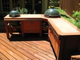 fresh 19 outdoor kitchen with green egg on this large marble