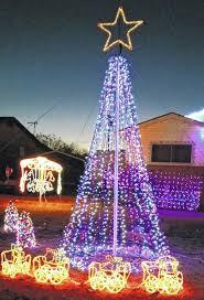 altus times christmas light show set to music